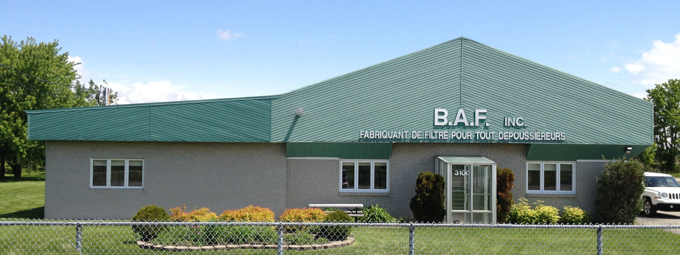 Bon Air Fabrication building industrial filters for dust collectors