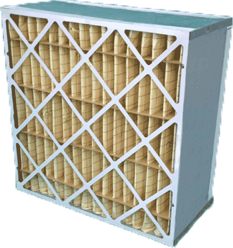 Pleated box filter industrial